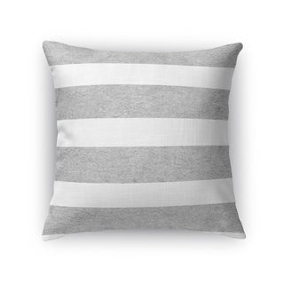 Kavka Designs grey/ white centerville accent pillow with insert
