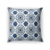 Kavka Designs blue/ white truro accent pillow with insert
