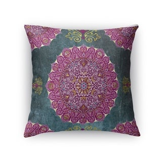 Kavka Designs grey/ purple/ blue ells accent pillow with insert
