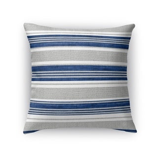 Kavka Designs blue/ grey cummaquid accent pillow with insert