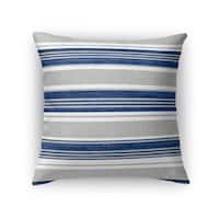 Kavka Designs blue/ grey cummaquid accent pillow with insert
