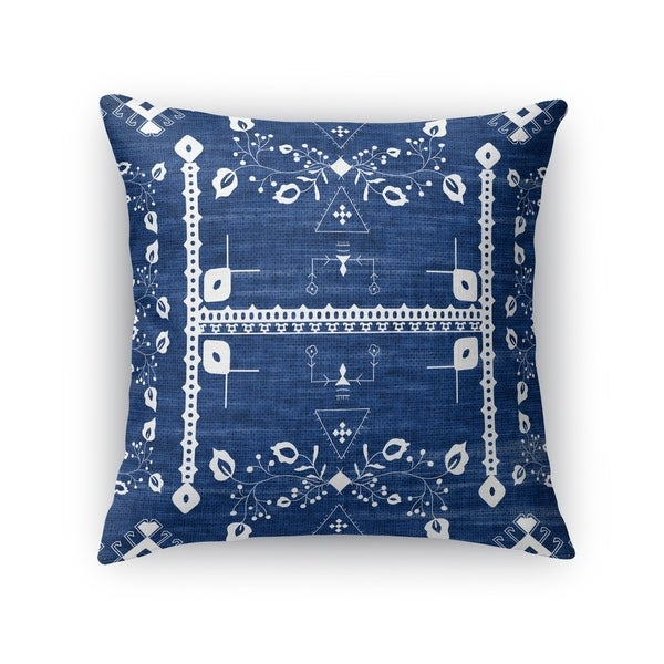 Kavka Designs blue annora accent pillow with insert