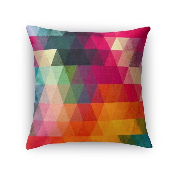 Kavka Designs red/ pink/ orange/ green/ blue/ yellow many colors accent pillow with insert