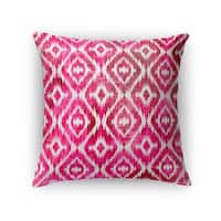 Kavka Designs pink omari pink accent pillow with insert