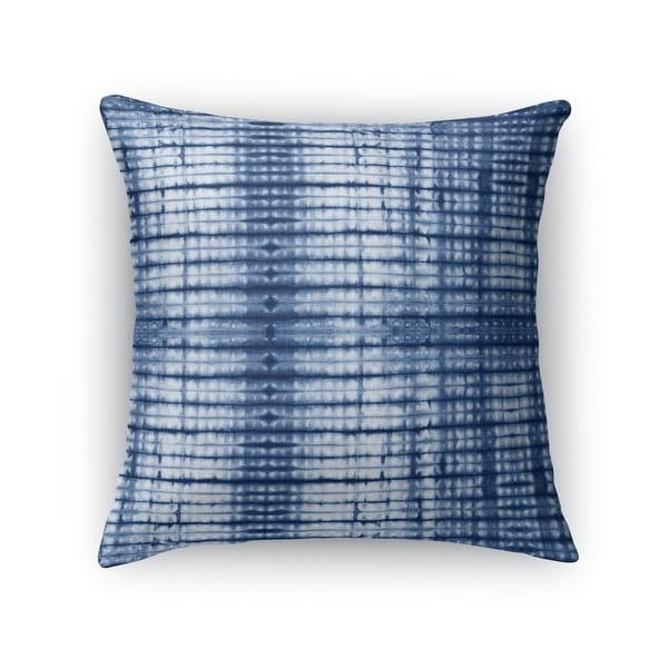 Kavka Designs blue ray accent pillow by terri ellis with insert