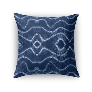 Kavka Designs blue swish accent pillow by terri ellis with insert
