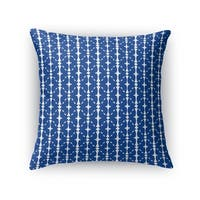 Kavka Designs blue/ white rana accent pillow by terri ellis with insert
