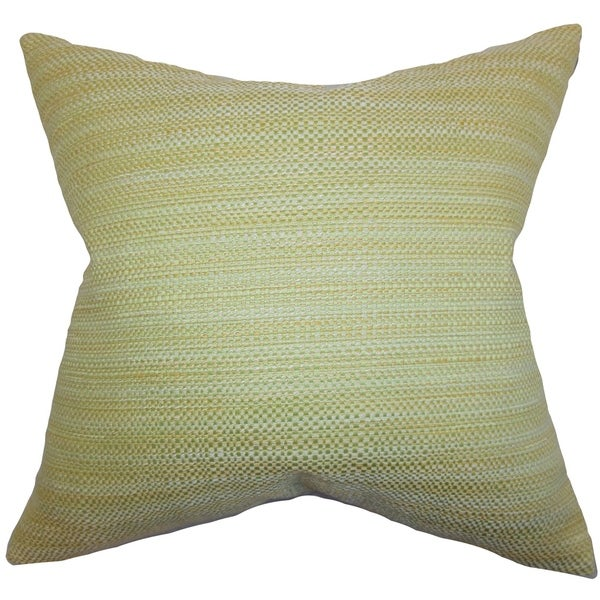 Zebulun Woven Floor Pillow Green
