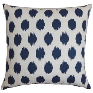 Faustine Ikat Floor Pillow Navy Blue|https://ak1.ostkcdn.com/images/products/16938375/P23227722.jpg?impolicy=medium