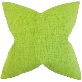 Leda Solid Floor Pillow Lime