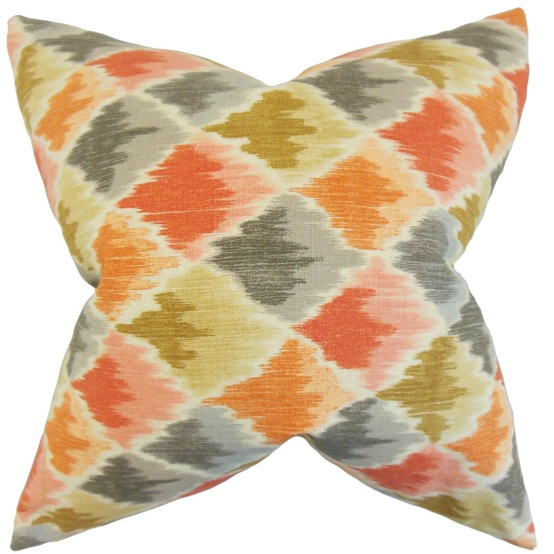 Yarrow Geometric Floor Pillow Harvest