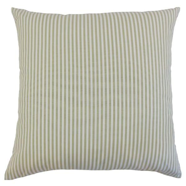 Ira Stripes Floor Pillow Sage