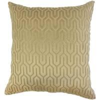 Chaney Geometric Floor Pillow Mocha