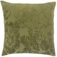 Cenobia Floral Floor Pillow Jade