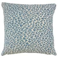 Pesach Animal Print Floor Pillow Delft