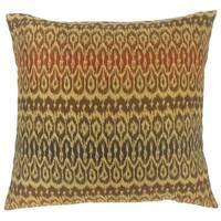 Dehateh Ikat Floor Pillow Tiki