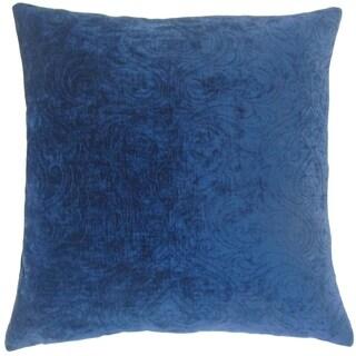 Hertzel Solid Floor Pillow Sapphire