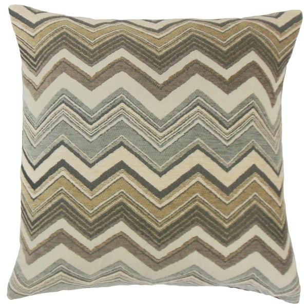 Saroja Zigzag Floor Pillow
