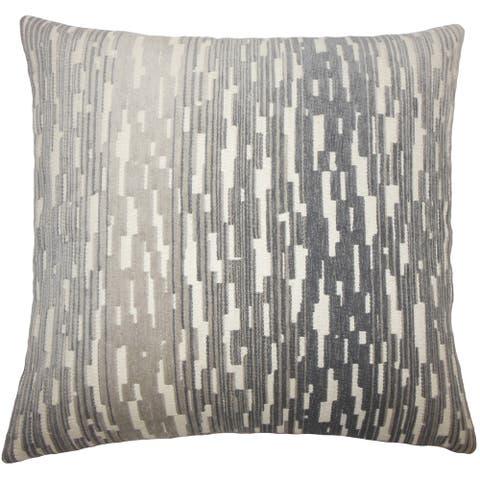 Yohance Geometric Floor Pillow Birch