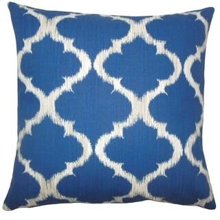 Gayora Geometric Floor Pillow Marine