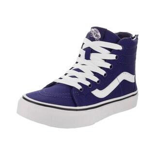 Vans Kids Sk8-Hi Zip (Pop Check) Skate Shoe (3 options available)