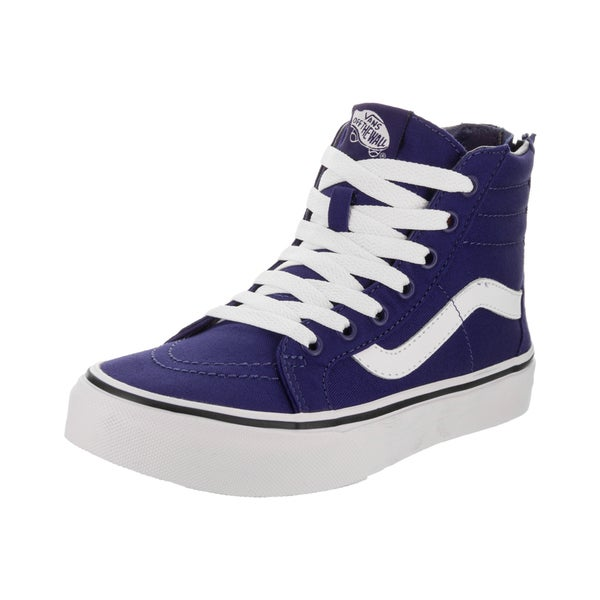 9f44b905716954 Shop Vans Kids Sk8-Hi Zip (Pop Check) Skate Shoe - Free Shipping ...