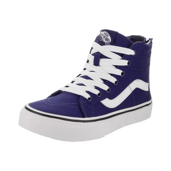 84afddc1a1 Shop Vans Kids Sk8-Hi Zip (Pop Check) Skate Shoe - Free Shipping ...