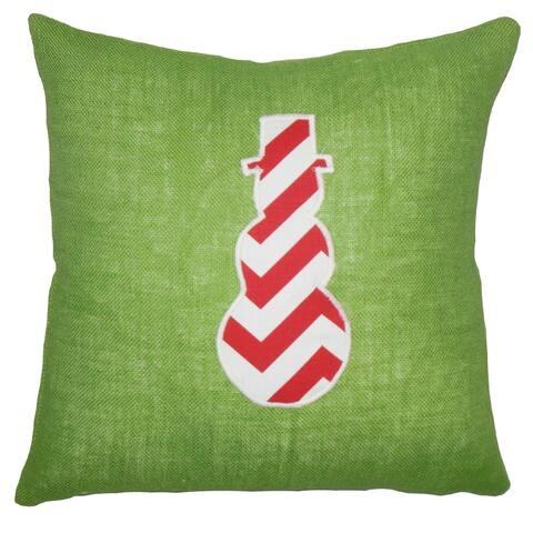 Ulfa Holiday Floor Pillow Green