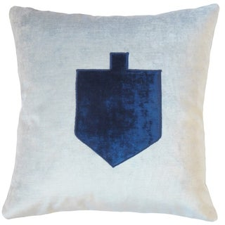 Felix Holiday Floor Pillow Blue