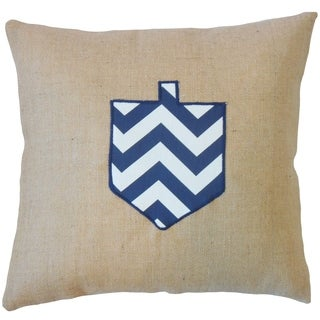 Gaspard Holiday Floor Pillow Blue