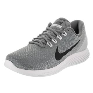 Nike Men's Lunarglide 9 Grey Fabric Running Shoes