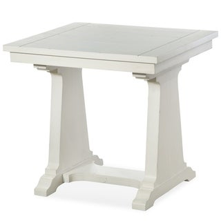 Magnussen Home Furnishings Coventry Lane Farmhouse Antique White End Table