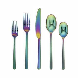 Cambridge Silversmiths Beacon Rainbow Mirror Stainless Steel 20 Piece Flatware Set