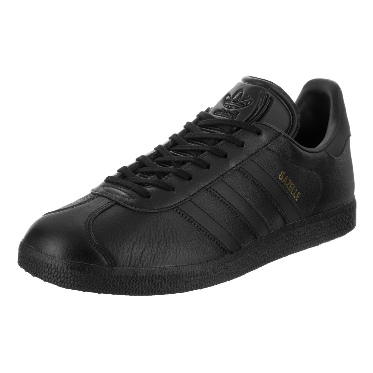Adidas Men's Gazelle Originals Casual Shoe (12), Black (l...