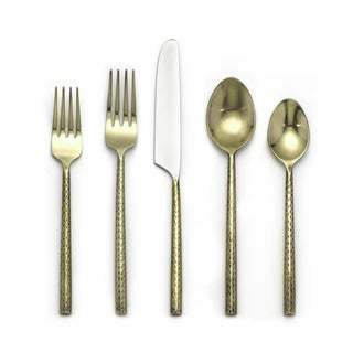 Cambridge Silversmiths Savita Brass 20-piece Flatware Set (Service for 4)