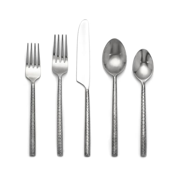 Cambridge Silversmiths Savita Mirror Silvertone Stainless Steel 20-piece Flatware Set