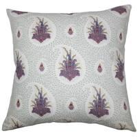 Zaci Floral Floor Pillow Pink