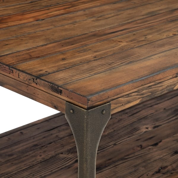 Magnussen Home Furnishings Montgomery Reclaimed Wood Entryway Table