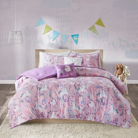 f0165fdd03 Urban Habitat Kids Ella Cotton Printed 5-Piece Comforter Set 2-Color Option