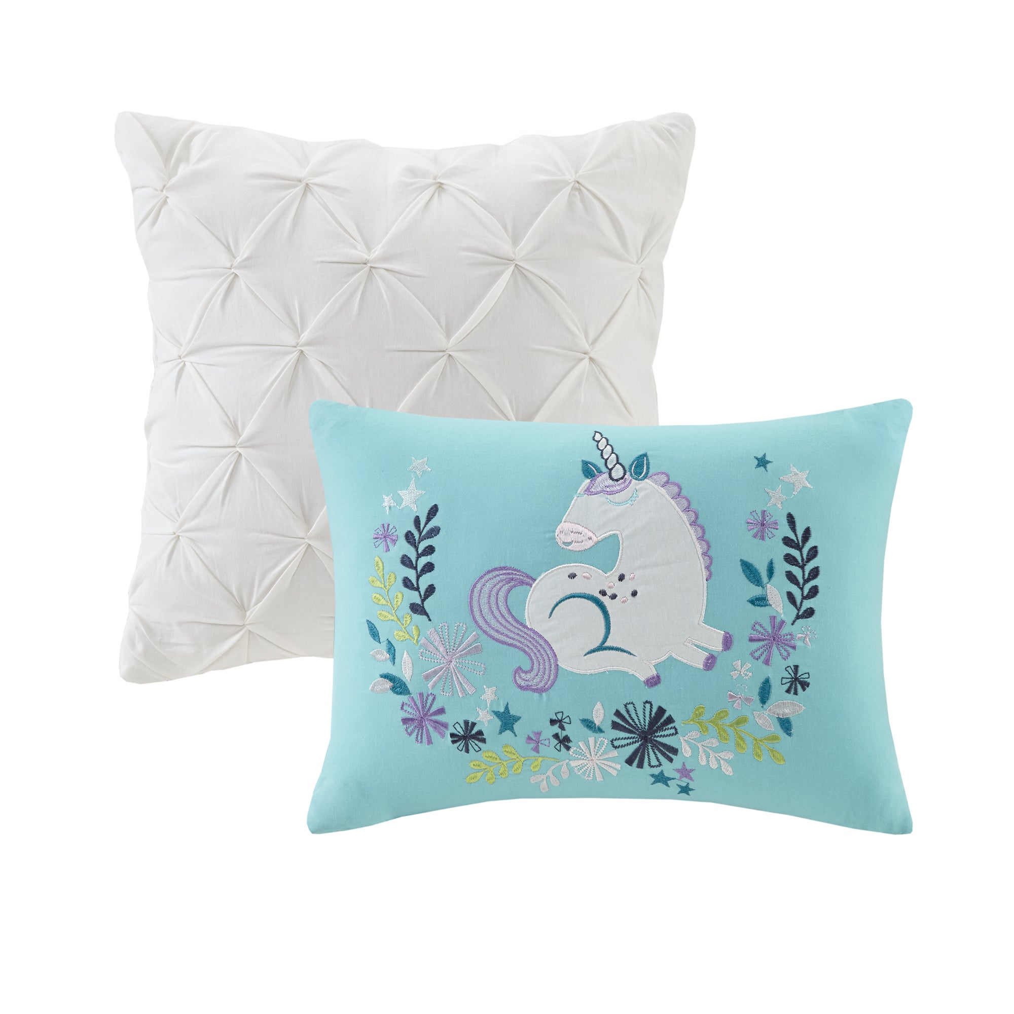 Unicorn Comforter Set 4 Pc Twin Size Girls Bed In A Bag