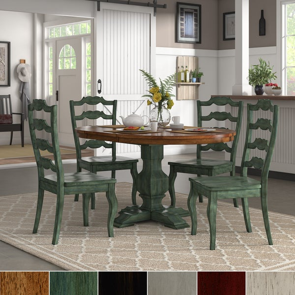 Sage Green Dining Room: Shop Eleanor Sage Green Extending Oval Wood Table French