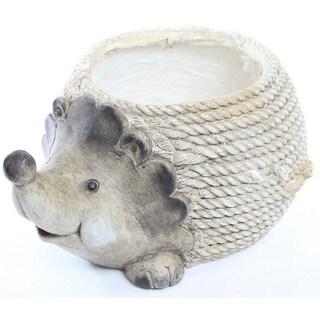 Alpine Hedgehog Rope Planter