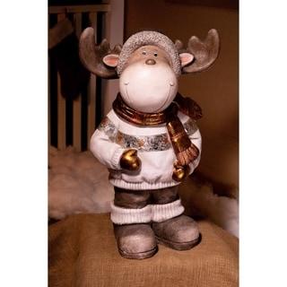 Alpine Christmas Reindeer Statuary