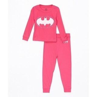 batgirl 2pc tight fit pajama set