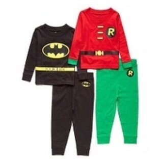 BATMAN and ROBIN 4PC TIGHT FIT