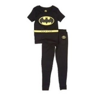 Batman Black & Yellow Pajama Set