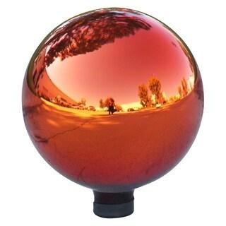 Alpine Corporation Red Glass Electric Gazing Globe