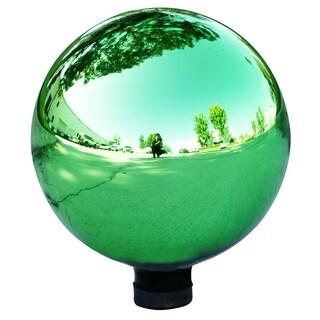 Alpine Electric Green Glass Gazing Globe