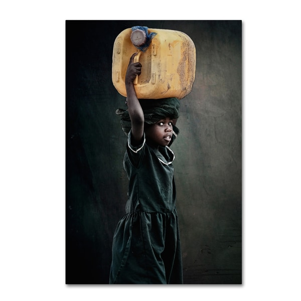 Antonio Grambone 'Carry Water' Canvas Art