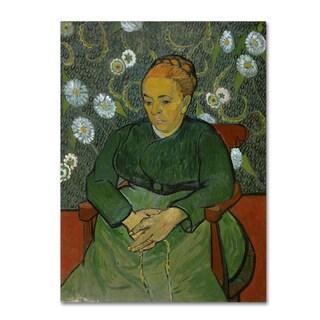 Van Gogh 'La Berceuse' Canvas Art